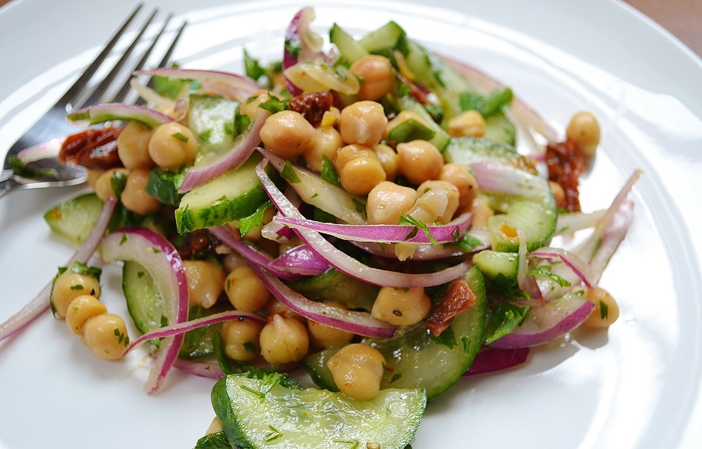 red onion and tomato recipes dishmaps chickpea salad with red onion ...