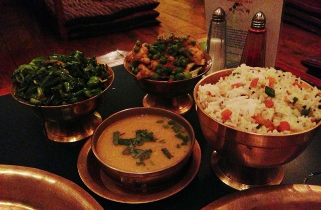 Nepalese feast, Yak Yeti Yak