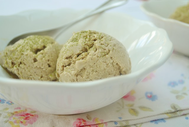 Raw Vegan Green Tea Ice Cream