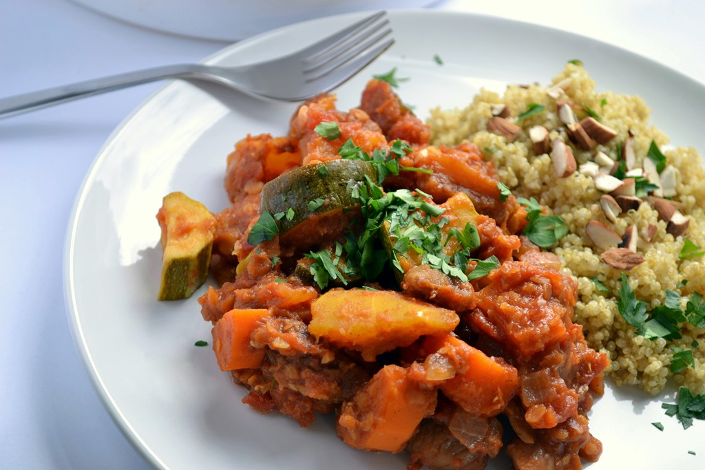 Red Lentil & Root Vegetable Tagine