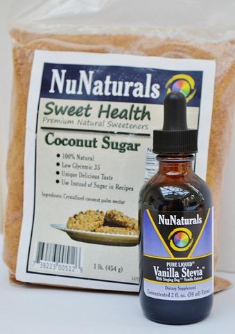 NuNaturals Vanilla Stevia + Coconut Sugar