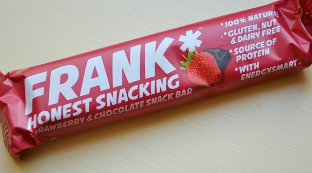 Review: Frank Snack Bars, Strawberry & Chocolate