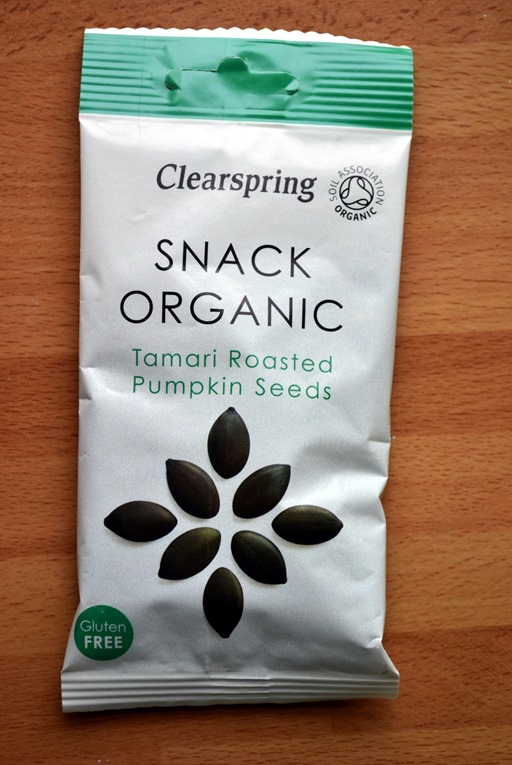 Clearspring Tamari Roasted Pumpkin Seeds