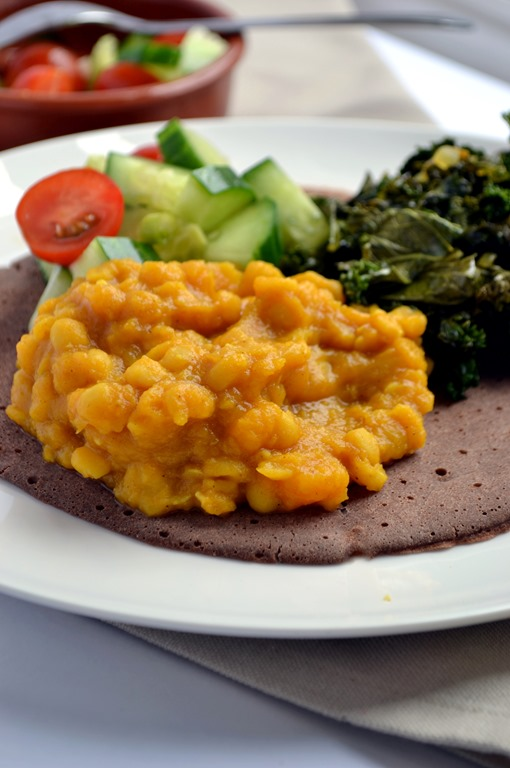 Ethiopian Yellow Split Pea & Butternut Stew | coconutandberries.com