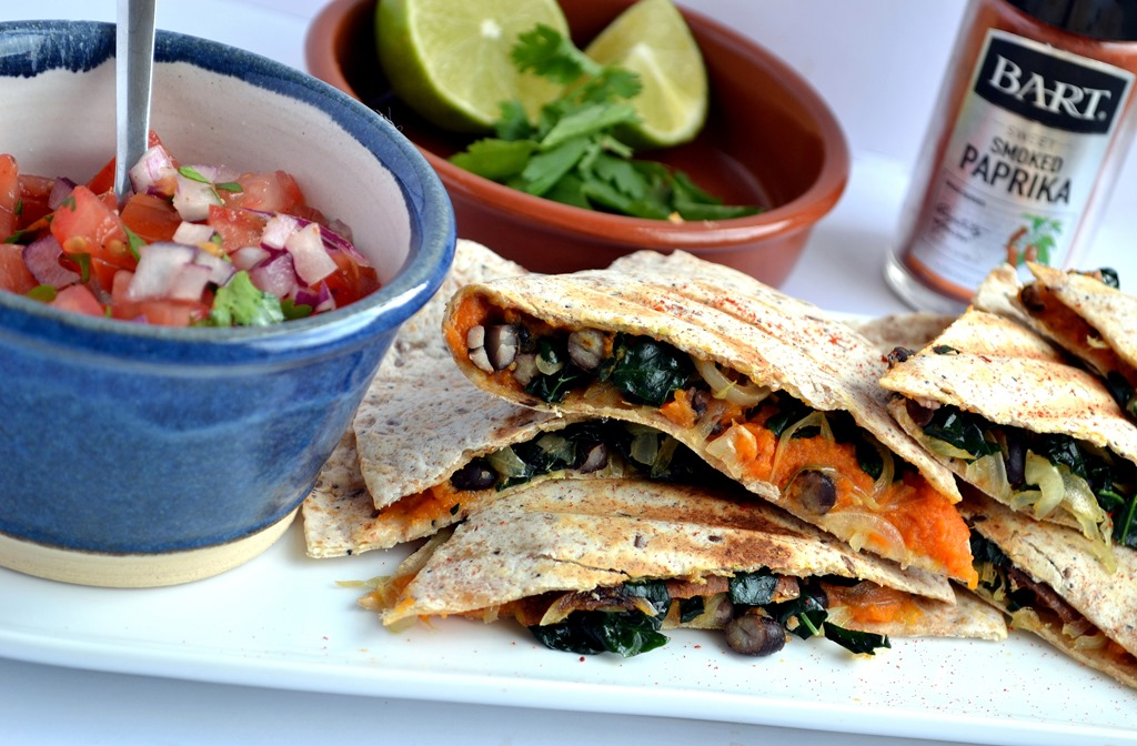 served them with a quick homemade salsa, a squeeze of lime and ...