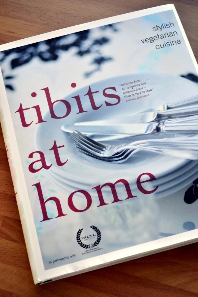 tibits at home, vegetarian cookbook